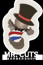 Mr. Cuts Neighborhood Barbershop Logo